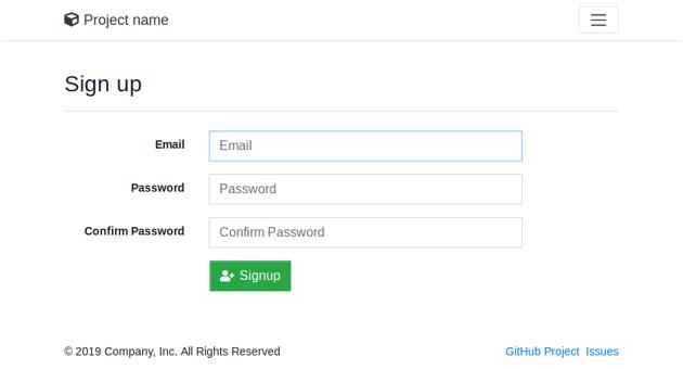 Hackathon starter template
