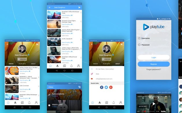 PlayTube Android