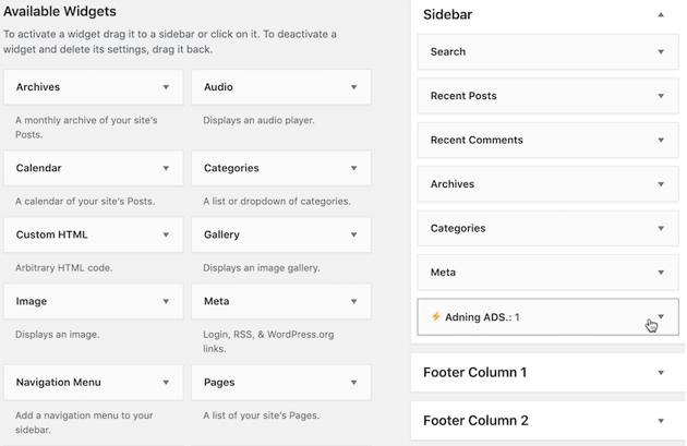 Create custom CSS classnames using ADning ADS