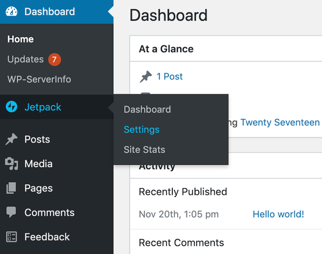 You can often edit a plugins settings by selecting its name in the left-hand menu and looking for a Settings option
