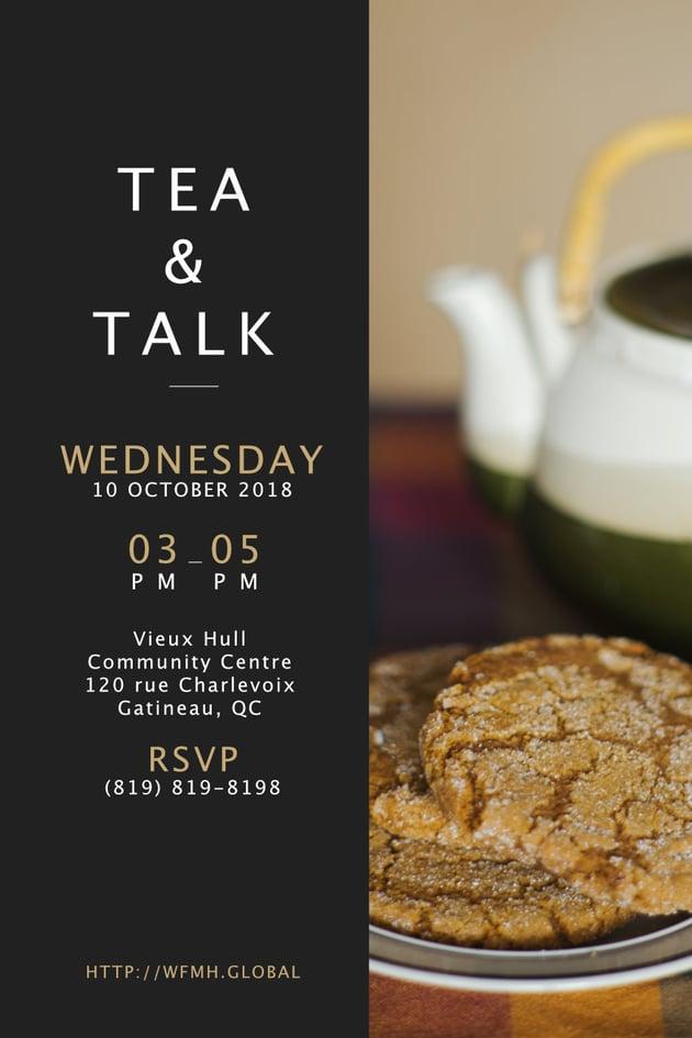 Tea  Talk poster