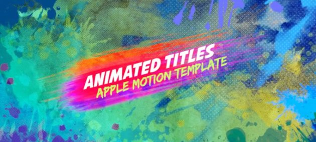 full-screen title example