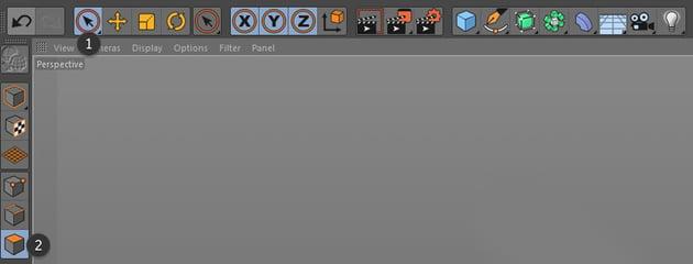Live selection tool and polygon tool