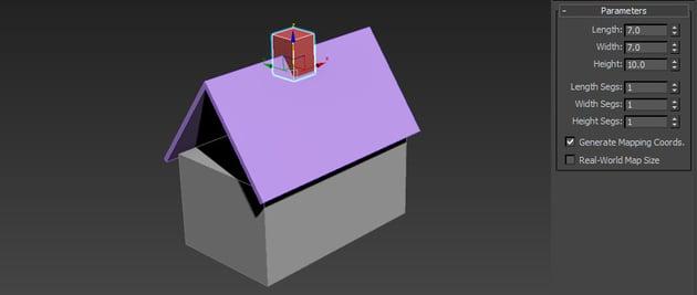 Image of a basic chimney