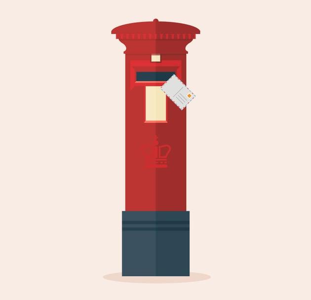 Vector Post Box Illustration Adobe Illustrator Tutorial