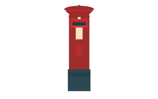The full post box