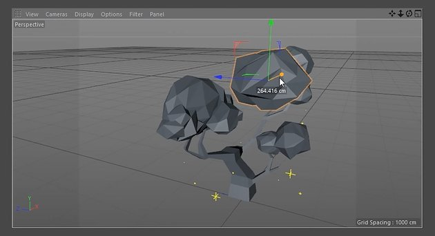 Creating more low poly tree leaves