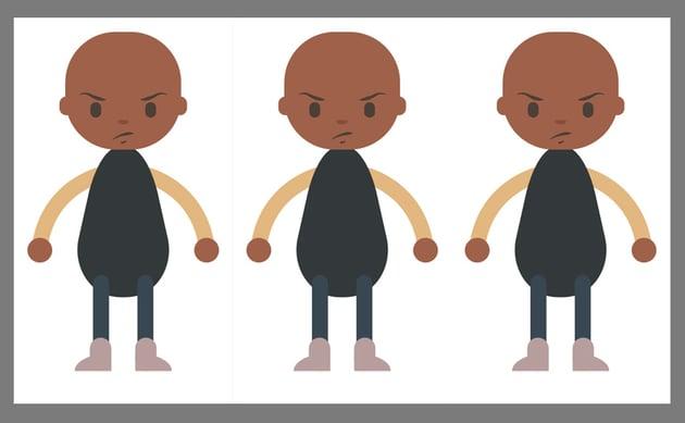Duplicating the base character