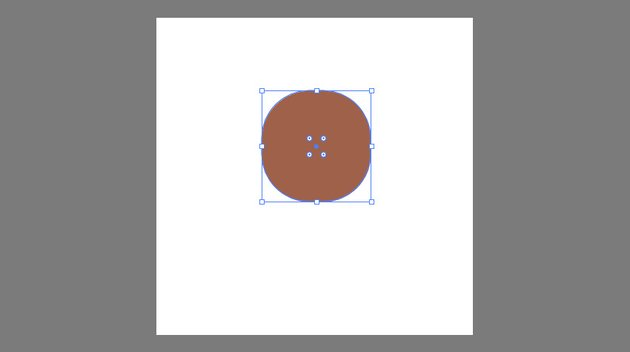 Creating the shape of the head using the Rounded Rectangle Tool