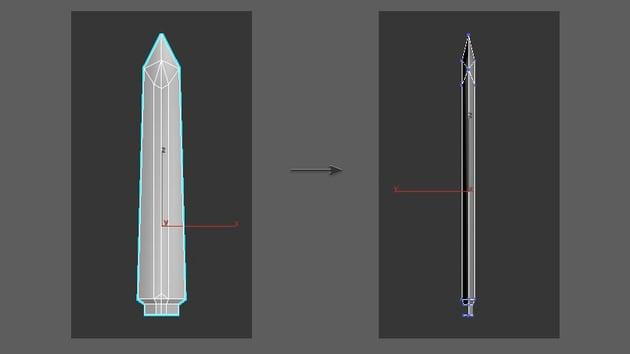 Turn the Blade model