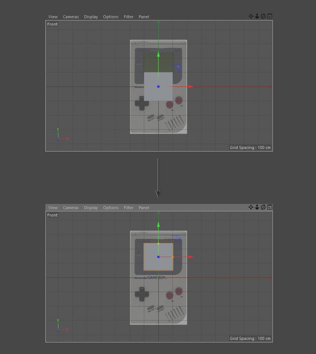 Create a new cube object and fit it to the screen