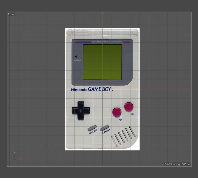 Reference image of a Nintendo Game Boy