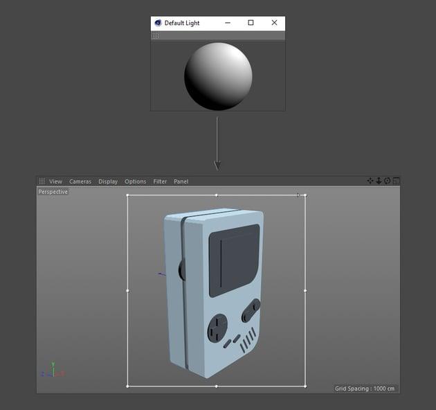Editing the default light