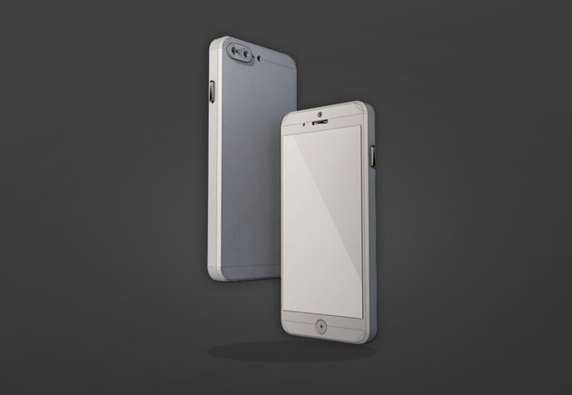 The final iPhone 3D model
