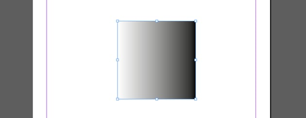 Apply the gradient to an object