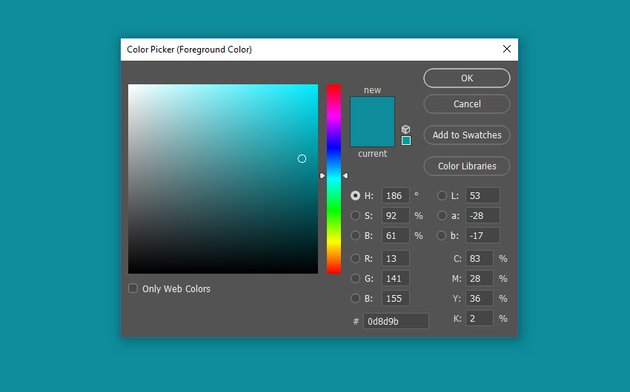 Use the paint bucket to fill a new layer with color