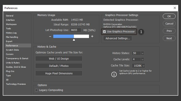 Use graphics processor to enable 3D