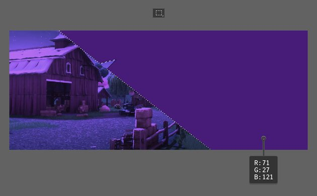 dark purple shape