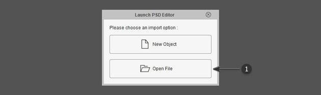 open psd file