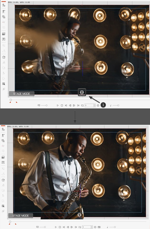 move background image