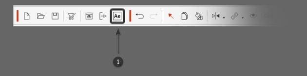 after effects button