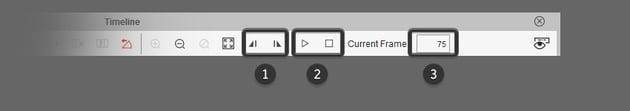 timeline toolbar