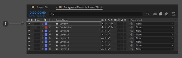 select layer 9