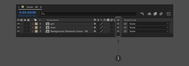 check 3D layer options