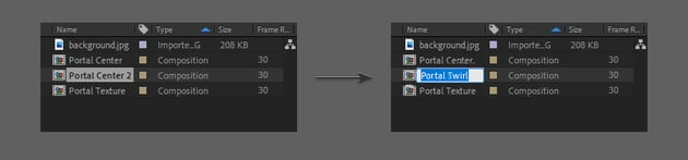 duplicate the layer and rename