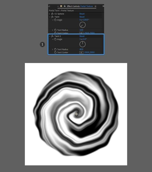 duplicate twirl effect