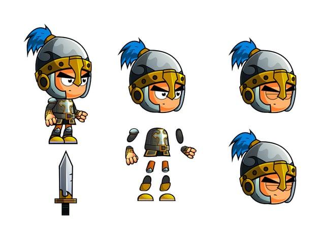 2D Knight