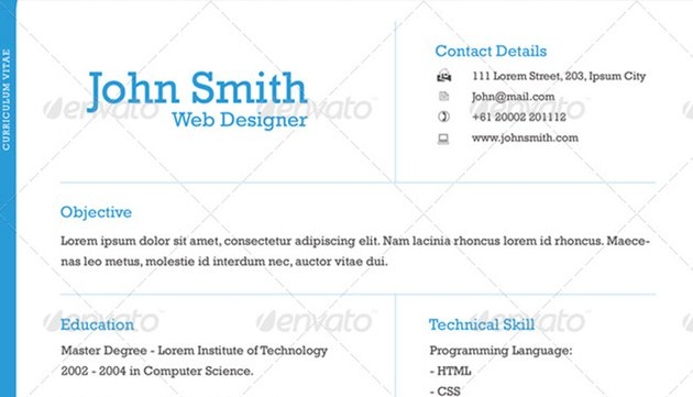 Professional One-Page Resume
