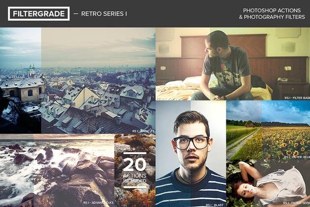 FilterGrade Retro Series I