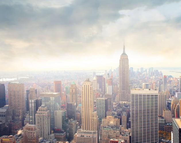 New York Aerial Shot