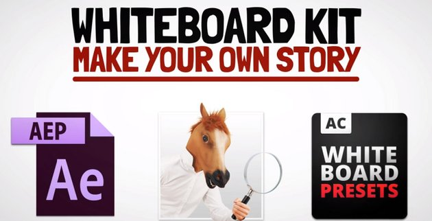 Whiteboard Kit - Make Your Own Story