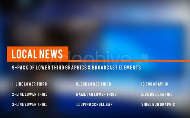 Local News Lower Third Package 2