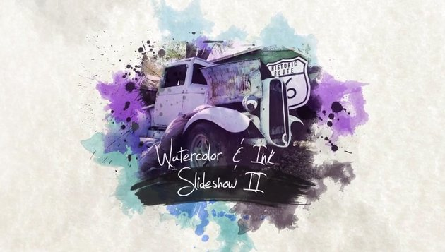 Watercolor Ink Slideshow 2