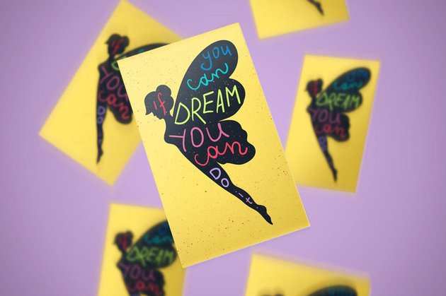 Motivation Lettering In Fairy