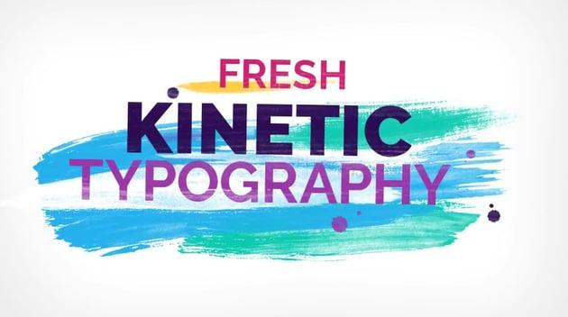 Brush Kinetic Typography