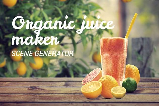 Organic Juice Maker Scene Generator