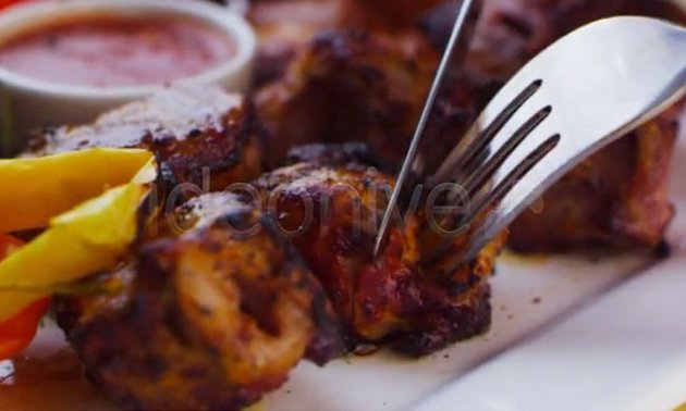 Barbecue on a Plate