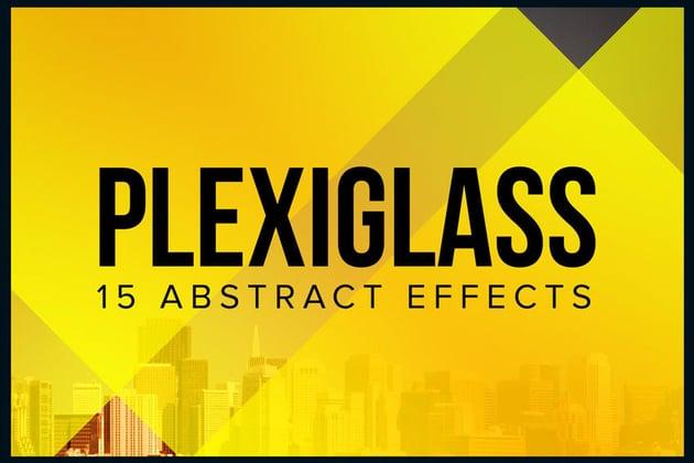 Plexiglass 15 Abstract Effects