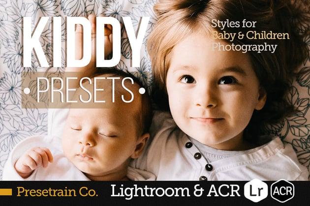Kiddy - Children Presets for Lightroom ACR