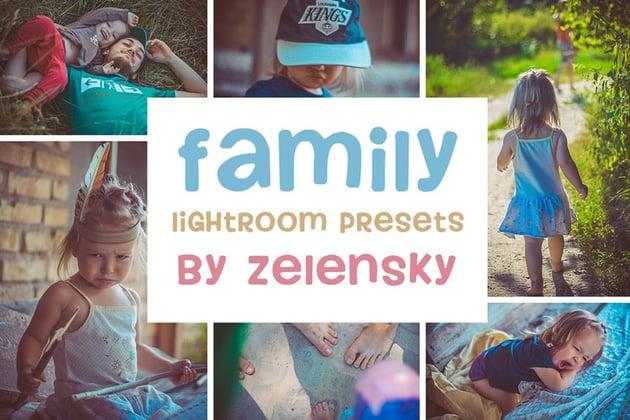 Family Children Lightroom Presets