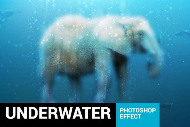 Aquarium - Underwater Photoshop Action