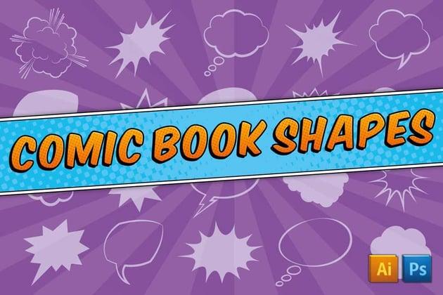 Comic Book Custom Shapes