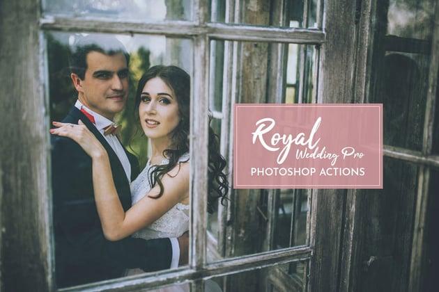 Royal Wedding Pro Photoshop Actions