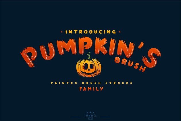 Pumpkins Brush