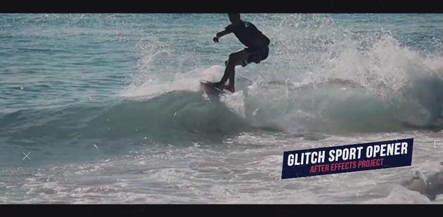 Glitch Sport Opener