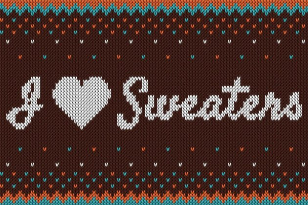 I  Sweaters - Smart Knitted Effect